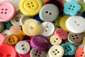 Buttons, beads, ribbons and all of your arts and crafts needs