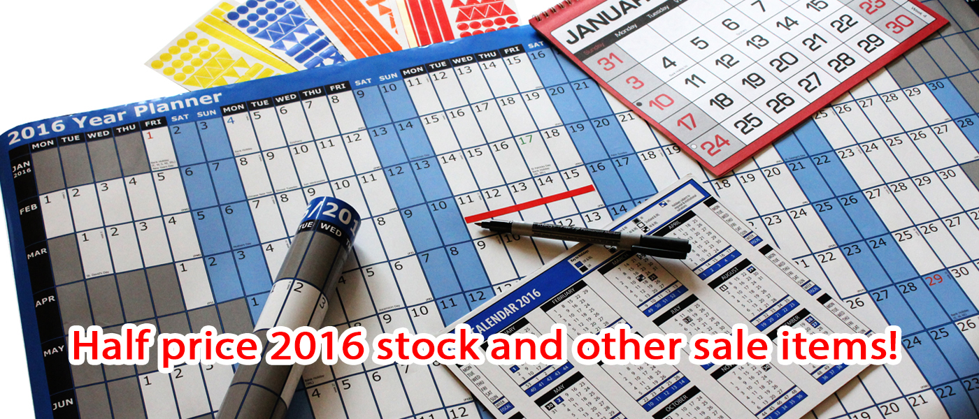 Calendar Sale Banner