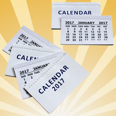Calendar Tabs & Planners 2017 Stock Now Available