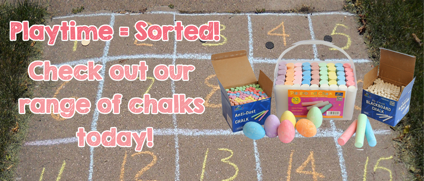 Check out our range of chalks!