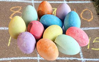 Chalk Eggs