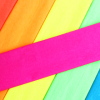 fluorescent-crepe