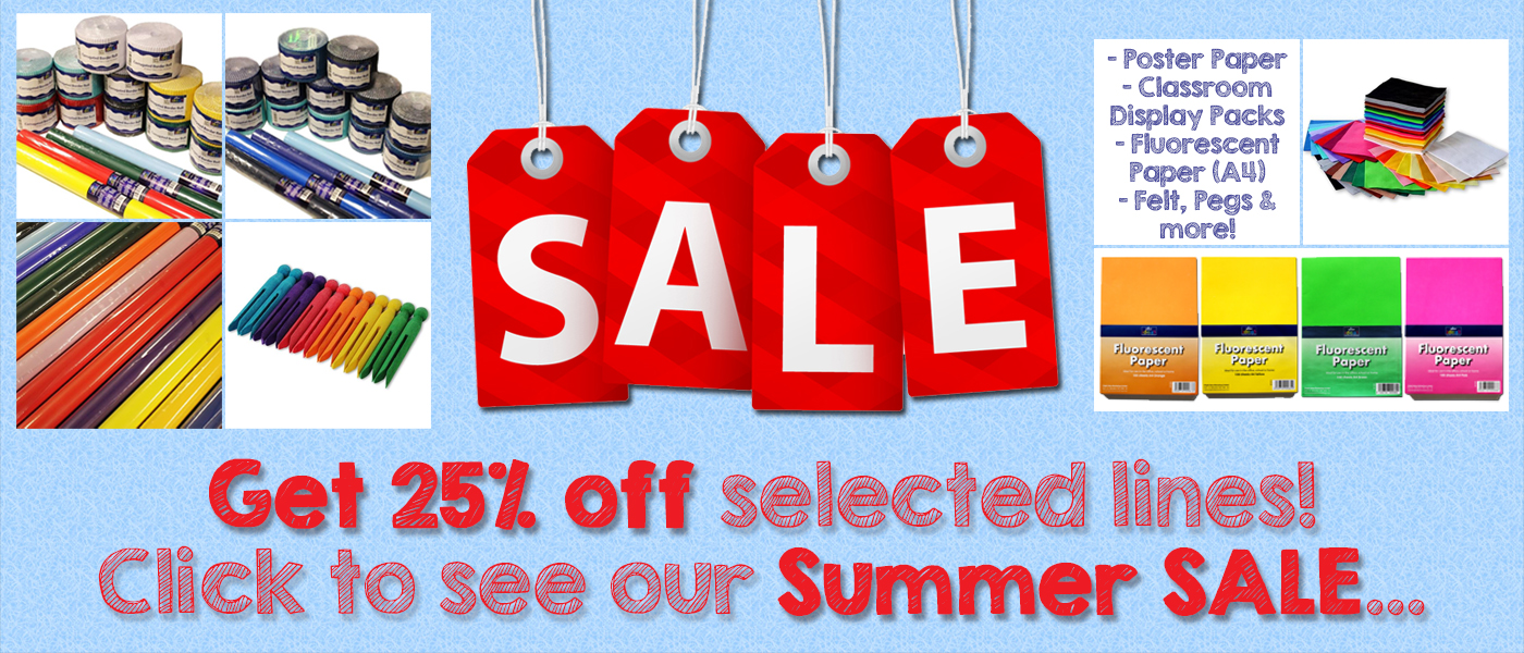 Craft Summer Sale - Get Some Crafty Bargains Today!