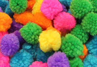 woolly-pompoms