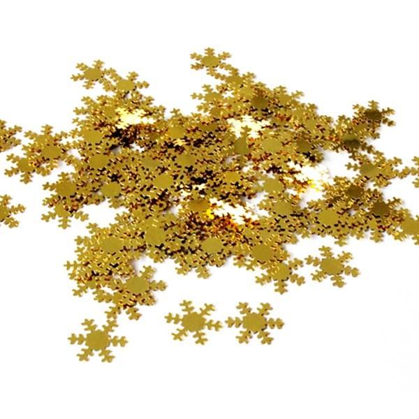57257 Snowflakes Confetti Sparkles 28g Gold