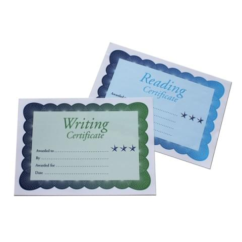 BI0069 Reading & Writing Certificates pk100 A4