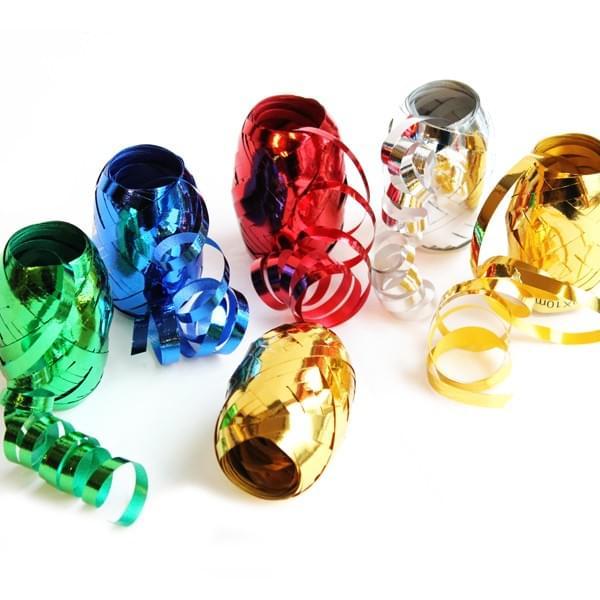 BI0086 Metallic Curling Ribbon Eggs