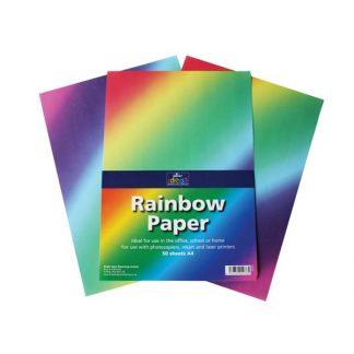 BI0105 Rainbow Paper A4