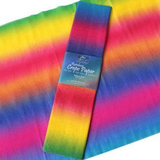 BI0170 Rainbow Crepe Paper
