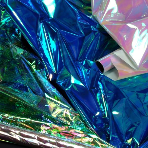 Iridescent Film Rolls 70cm X 2m Bright Ideas Crafts