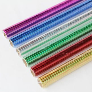 BI0369 Holographic Film Rolls Assorted pk6
