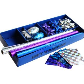 BI0376 Holographic Gift Wrap Pack