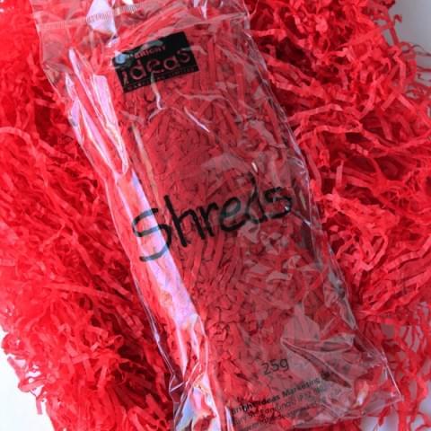 BI0567 Red Tissue Shreds