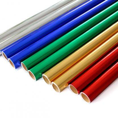 BI0739 Metallic Paper Rolls Assorted Pack of 10