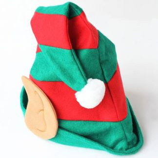 BI0963 Christmas Felt Elf Hat with Ears