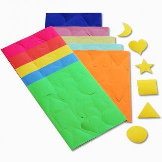 BI1032 Gummed Paper Shapes pk300