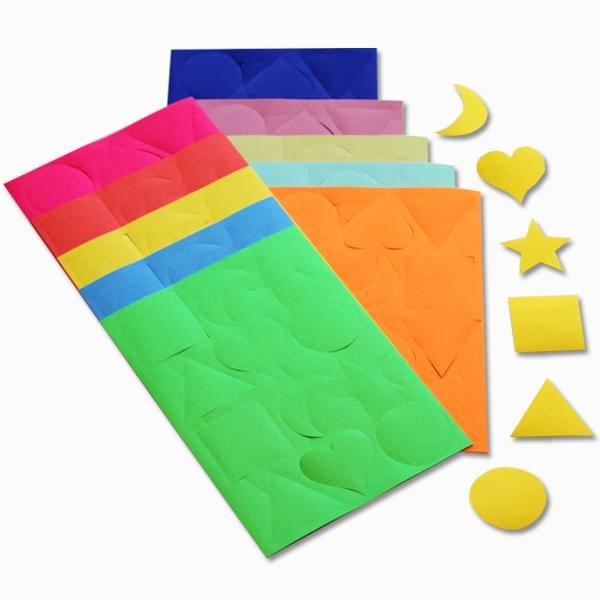 gummed paper shapes pk300 bright ideas crafts