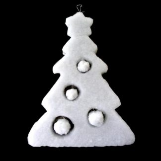 BI1126 Hanging Snow Tree Decoration