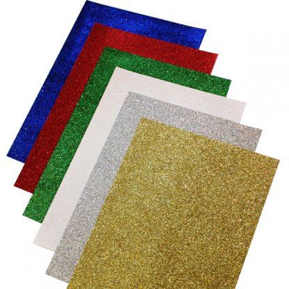 BI1190 Glitter Paper A4 pk12