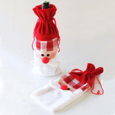 BI2094 Santa Bottle Bag