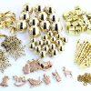 BI2288 100 Piece Tree Decoration Kit Gold