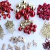 BI2289 100 Piece Tree Decoration Kit Red & Gold