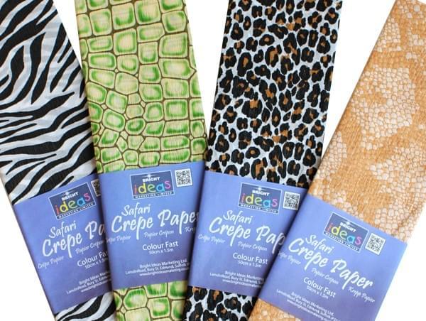 BI2521 Safari Crepe Paper