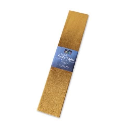 BI2530 Gold Metallic Crepe Paper