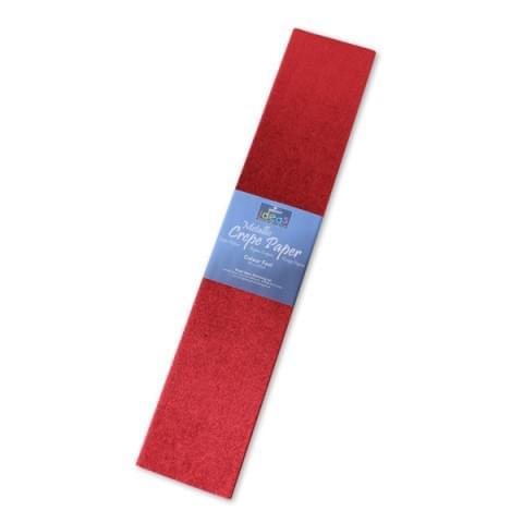 BI2532 Red Metallic Crepe