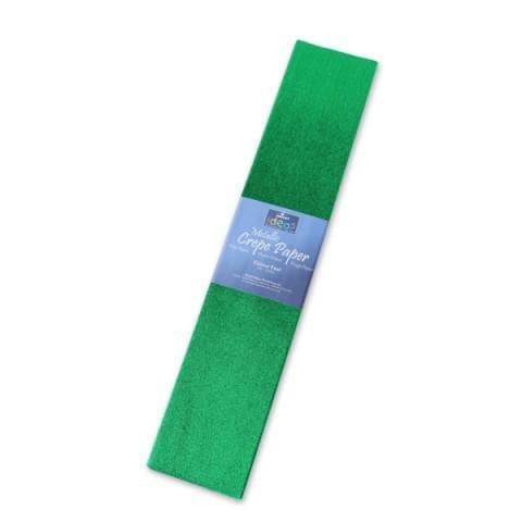 BI2533 Green Metallic Crepe