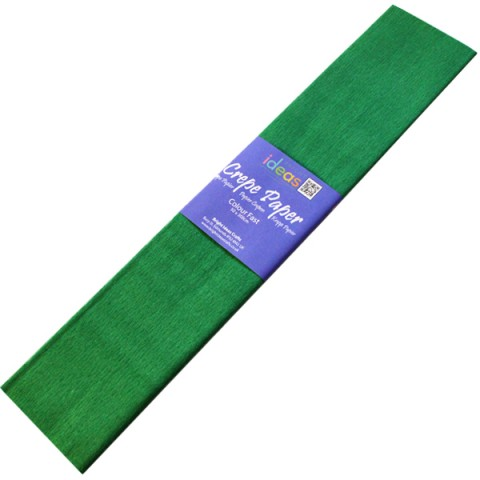 BI2571 Dark Green Crepe Paper