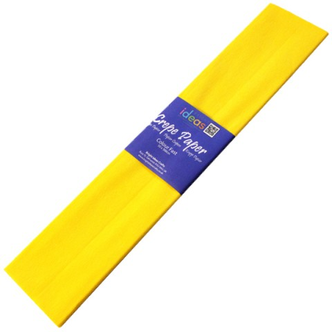 BI2573 Yellow Crepe Paper