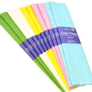 Crepe Paper - Ideal for Crafts and Schools