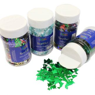 Christmas Confetti Shaker Jars PK04