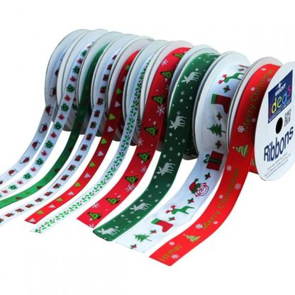 BI3036 Christmas Ribbons Set 10 x 3m