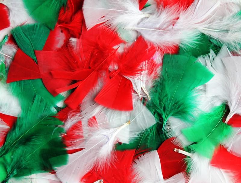d9aa4f8d Festive Colour Christmas Feathers 14g or 50g