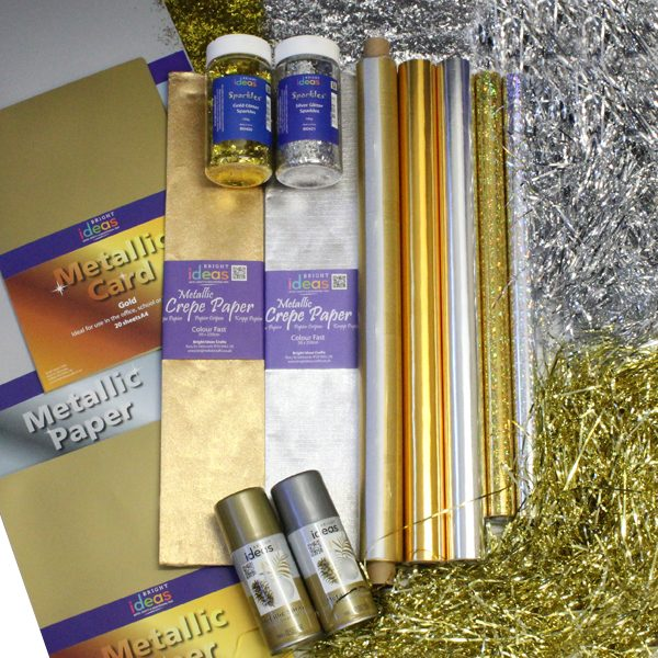 Metallic Gold and Silver Bundle
