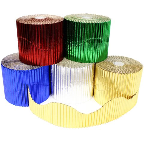 BI7864 Metallic Border Rolls