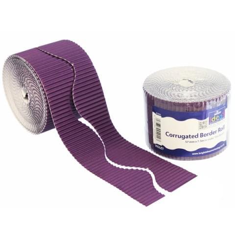 BI7896 Violet Border Roll