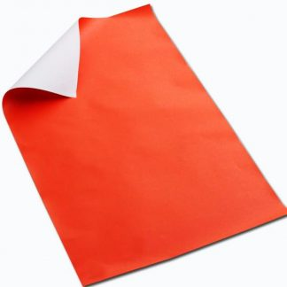 BI7935 Orange Poster Paper Sheets