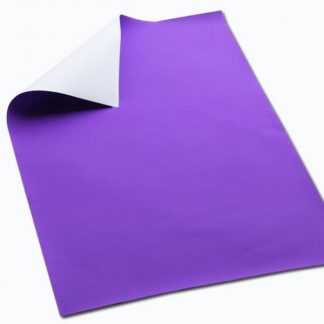 BI7941 Purple Poster Paper Sheets