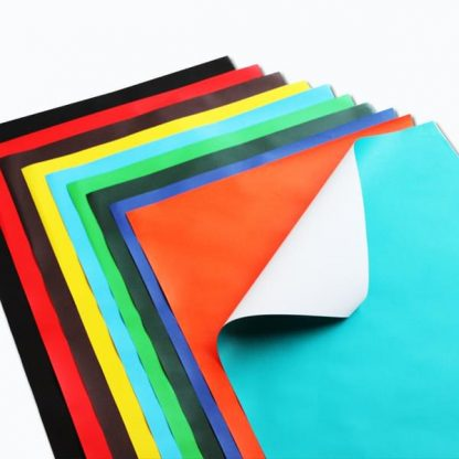 Single Colour Poster Paper Sheets pk25