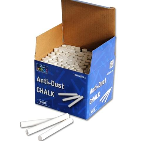 BI8011 White Anti-Dust Chalk