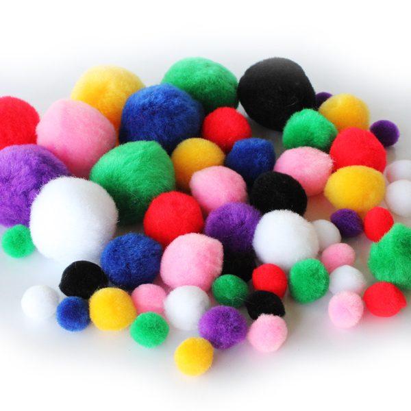 BI8024 Colour Pompoms