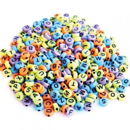 BI8070 Alphabet Beads PK400