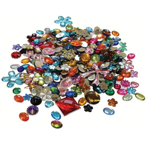 BI8071 Acrylic Jewels & Gemstones 454g