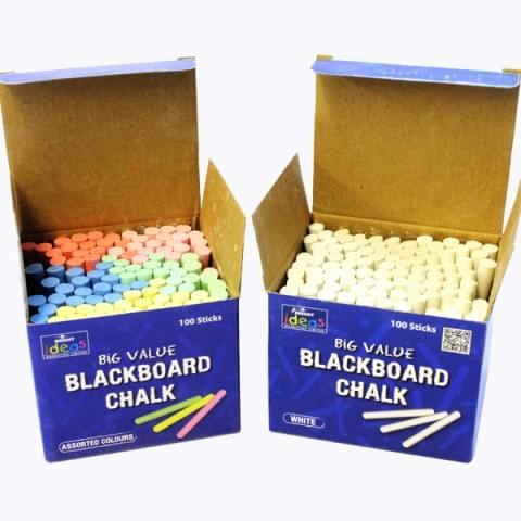Blackboard Chalk Box of 100
