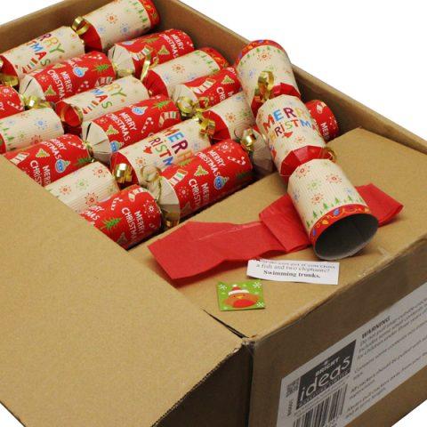 "Christmas Crackers 10"" PK50"