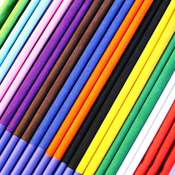Crepe Paper Single Colours pk10