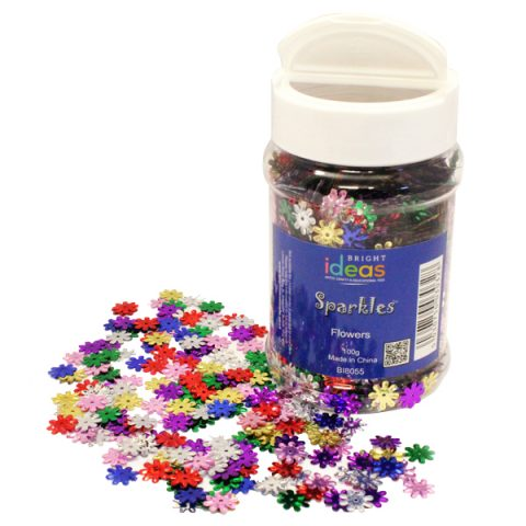 Flowers Confetti Sparkles Shaker 100g
